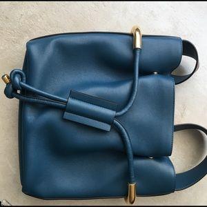 Chloe Emma bucket bag in blue
